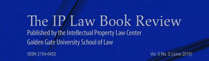The IP Law Book Review Vol. 5, No. 2