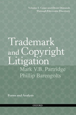 TRADEMARK AND COPYRIGHT LITIGATION FORMS